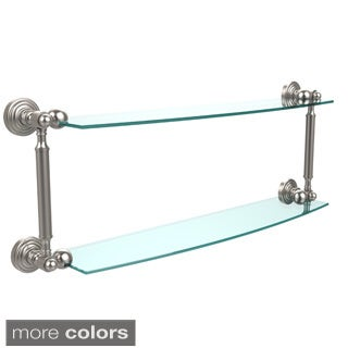 Waverly Place Collection 24-inch 2-tiered Glass Shelf