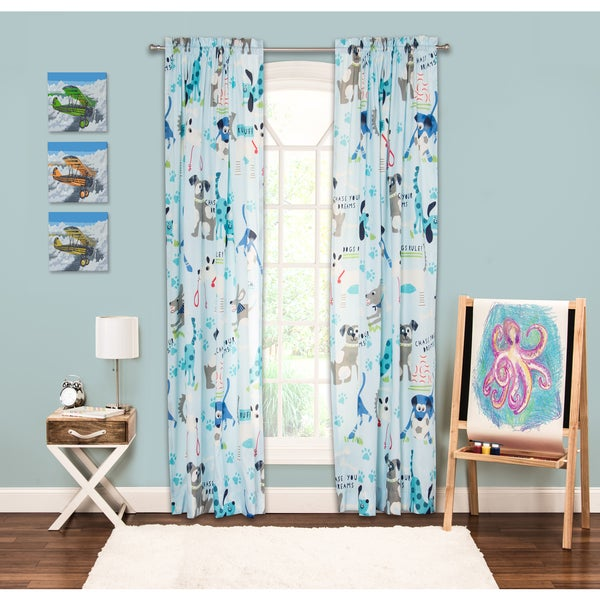 Crayola Chase Your Dreams Single Rod Pocket 84-inch Window Panel. Opens flyout.