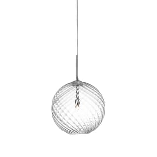 Dainolite 1-light Small Pendant with Clear Glass