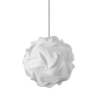 Dainolite Globus Medium White in Polished Chrome Finish