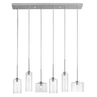 Dainolite 6-light Horizontal Pendant in Polished Chrome