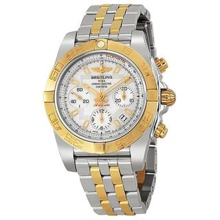 Breitling Men's CB0140Y2-A743 'Chronomat' Chronograph Automatic 18kt Rose Gold Two-Tone Stainless Steel Watch