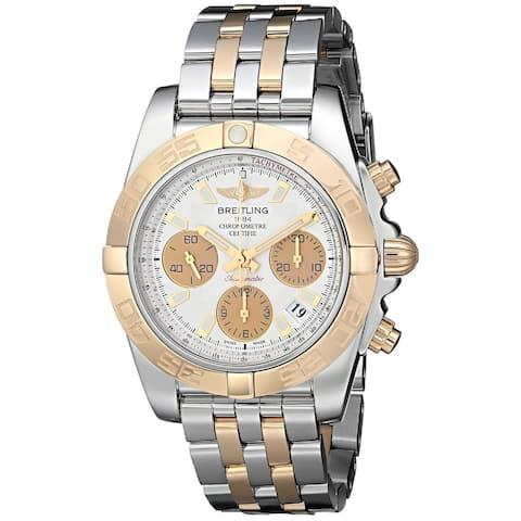 Breitling Men's CB014012-G713TT 'Chronomat' Chronograph Automatic 18kt Rose Gold Two-Tone Stainless