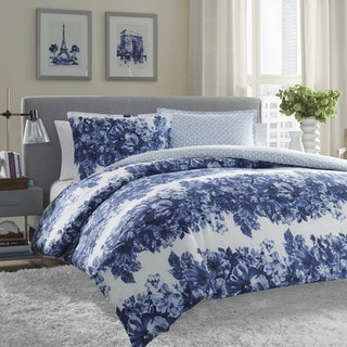 Catalina 5 Piece Printed Cotton Oversize Duvet Cover Set