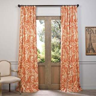 Exclusive Fabrics Edina Printed Cotton Curtain Panel (More options available)