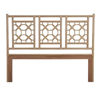 Granby Natural Modern Lattice King Headboard