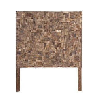 Louisville Natural Geometric Sequoia Full Headboard