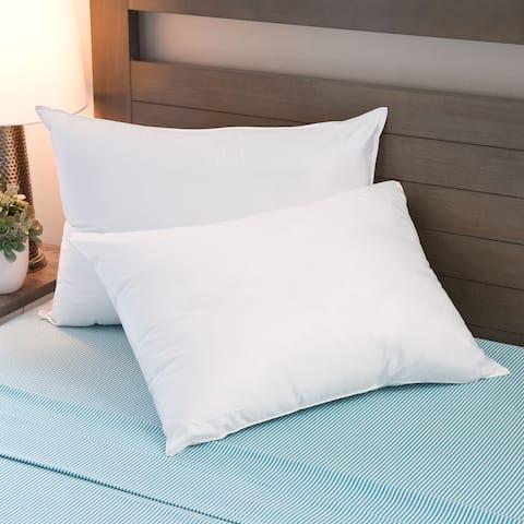 Cozy Classics MicronOne Basic Hypoallergenic Pillows (Set of 2) - White