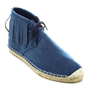 Betani Caterina-1 Women's Lace Up Fringe Espadrille Chukka Ankle Booties