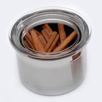 Studio Stainless Steel 3.75-cup Canister with Lid
