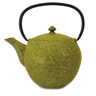 Studio 1.6-quart Lemon Cast Iron Teapot