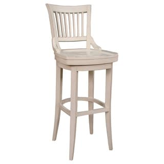 Ross Extra Tall Stool In Antique White