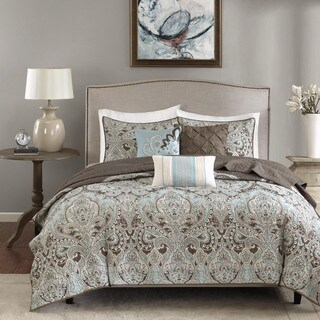 Madison Park Lavinia Quilted 6-piece Coverlet Set