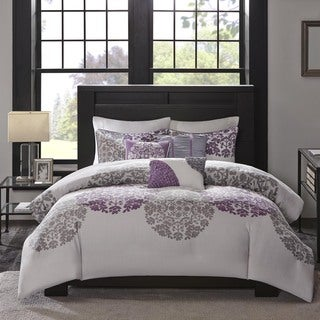 Madison Park Forbes 6-Piece Cotton Duvet Cover Set