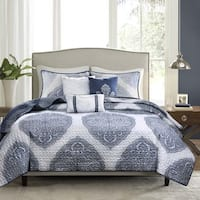 Madison Park Rebecca 6-piece Reversible Coverlet Set