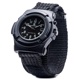 Smith and Wesson Men's Lawman Nylon Strap Watch