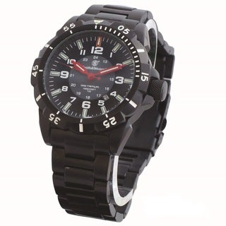 Smith and Wesson Emissary Tritium H3 SS Watch-Black Zulu Strap