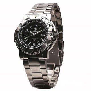 Smith and Wesson 357 Aviator Stainless Steel Tritium Watch