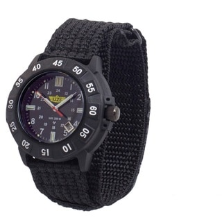 UZI Protector Tritium H3 Watch with Nylon Strap Black