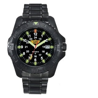 UZI Defender Tritium Watch Red Face with Black Nylon Strap