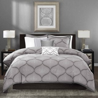 Madison Park Vella 6-Piece Duvet Cover Set