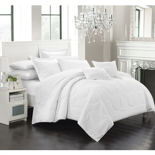 Chic Home Direllei White Down Alternative 7-piece Comforter Set