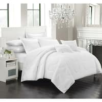 Copper Grove Olympic White Down Alternative 7-piece Comforter Set
