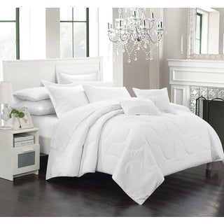 Porch & Den Mariner White Down Alternative 7-piece Comforter Set
