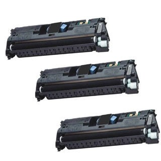 Compatible HP Q3960A BlackToner Cartridge 2550 2550L 2550LN 2550N (Pack of 3)