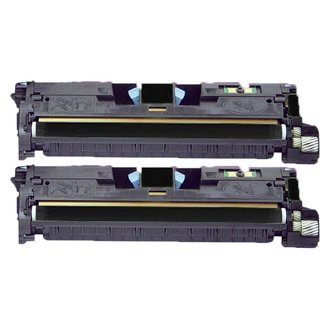 Compatible HP Q3960A BlackToner Cartridge HP 2550 2550L 2550LN 2550N (Pack of 2)