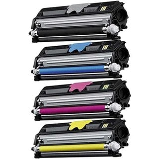 Compatible HP CF300A CF301A CF302A CF303A Black Cyan Magenta Yellow Toner Cartridge LaserJet M880Z+ (Pack of 4)