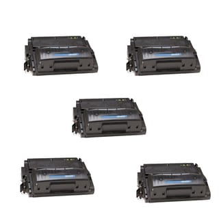 HP Q5942X (42X) High Yield Black Compatible Laser Toner Cartridge 4240 4240n 4250 4250DTN (Pack of 5)