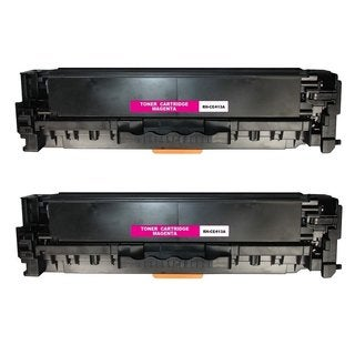 Compatible HP CE413A Magenta Toner Cartridge LaserJet Pro 300 color MFP M375nw LaserJet Pro 400 color M451dn (Pack of 2)