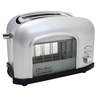 iTouchless See-Through Automatic Toaster