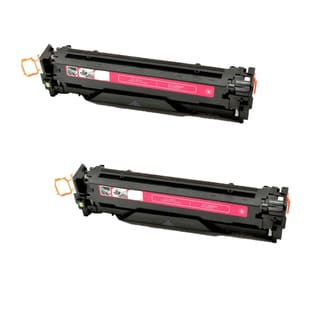 Compatible HP CE323A Magenta Toner Cartridge CM1415fn/CM1415fnw (Pack of 2)