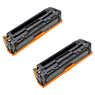Compatible HP CE321A Cyan Toner Cartridge CM1415fn/CM1415fnw (Pack of 2)