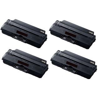 Compatible Samsung MLT-D103L/ MLT103L/ SCX4728 Toner Cartridges (Pack of 4)