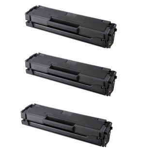Samsung MLT-D101S Black Compatible Laser Toner Cartridge ML-2165 ML-2165W SCX-3405 SCX-3405FW SF-760P (Pack of 3)