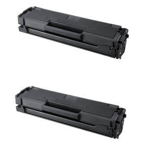 Samsung MLT-D101S Black Compatible Laser Toner Cartridge ML-2165 ML-2165W SCX-3405 SCX-3405FW SF-760P (Pack of 2)