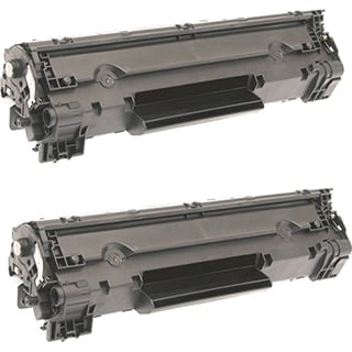 HP Compatible CF283X Black Toner Cartridges (Pack of 2)