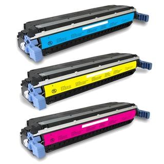 Compatible HP C9731A C9732A C9733A Toner Cartridge 5500dtn 5500hdn 5500n 5550 5550dn 5550dtn 5550hdn 5550n (Pack of 3)