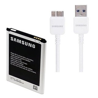 3200mAh Replacement Battery and 5-foot USB 3.0 Charge Cable for Samsung Galaxy Note 3