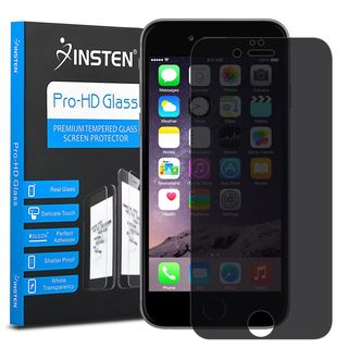 Insten Privacy Tempered Glass Screen Protector for Apple iPhone 6 Plus