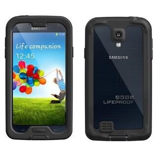 Samsung Galaxy S4 I337 16GB Unlocked GSM Phone White + LifeProof Nuud S4 Case