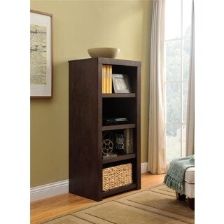 Ameriwood Home Westbrook Dark Walnut Audio Stand