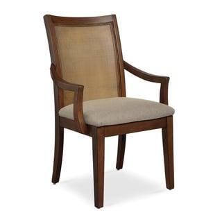 Somerton Dwelling Claire de Lune Cane Arm Chair
