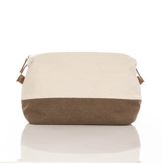 Original Canvas and Leather Toiletry Bag