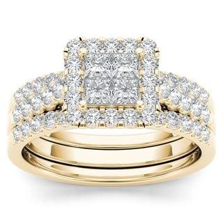 Bridal Sets Shop The Best Wedding Ring Sets Deals For May 2017
