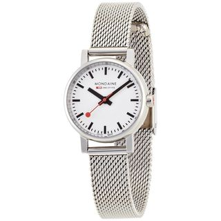 Mondaine Women's 6583030111SBV 'Railways Evo' Stainless Steel Watch