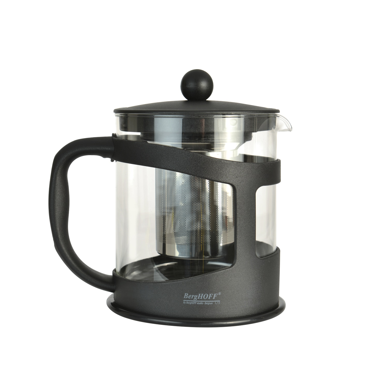 Berghoff International Inc Studio Black 4.25-cup Tea Make...